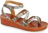 Lucky Brand 'Honeyy' Platform Sandal (Women)