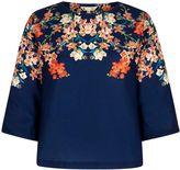 Yumi Blossom Printed Tunic Top