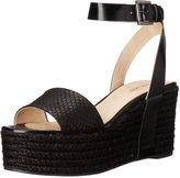 Nine West Women's Edoile Synthetic Wedge Sandal