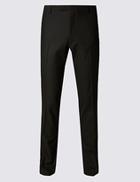 Limited Edition Black Superslim Fit Trousers