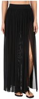 Jets Aspire Layered Mesh Maxi Skirt Cover-Up