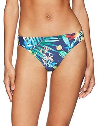 Lucky Brand Women's Reversible Hipster Bikini Swimsuit Bottom