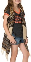 O'Neill Fireside Fringe Knit Vest (Little Girls & Big Girls)
