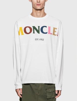 MONCLER GENIUS 1952 Colorful Logo Long Sleeve T-Shirt