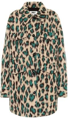 MM6 MAISON MARGIELA Leopard-print jacket