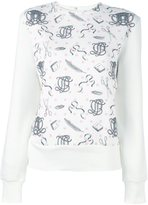 Olympia Le-Tan printed jumper - women - Cotton - 38