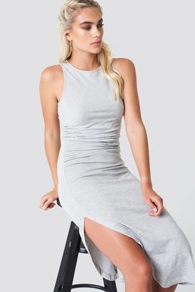 NA-KD Side Ruching Dress