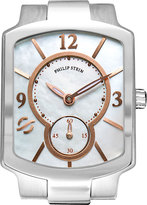 Philip Stein Teslar Small Classic Mother-Of-Pearl & Rose Gold Watch Head