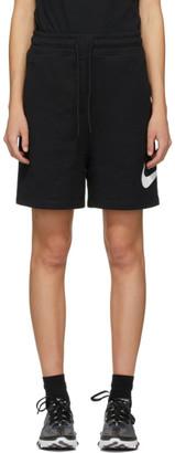 Nike Black Sportswear Swoosh Shorts
