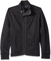 Nautica Men's Full-Zip Flap Jacket