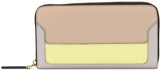 Marni Saffiano Zip Around Wallet
