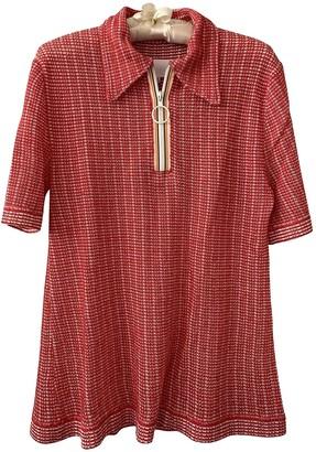 Maison Margiela Red Cotton Top for Women Vintage