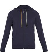 Paul Smith Zip-through cotton hooded sweatshirt