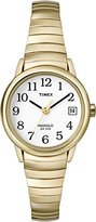 Timex T2H351 Women's Easy Reader Dial Gold Tone Stainless Steel Expansion Bracelet Watch
