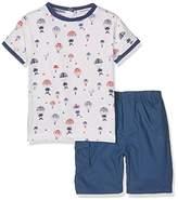 3 Pommes 3Pommes Baby Boys' Cap Blue Clothing Set,pack of 2