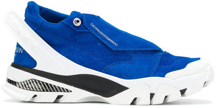 Calvin Klein ridged runner sneakers
