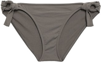 Eres Studio Sepia Ring-embellished Low-rise Bikini Briefs