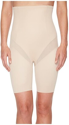 Miraclesuit Shapewear Cool Choice High-Waist Thigh Slimmer (Nude) Women's Underwear