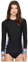 Next by Athena - Perfect Alignment Detox Long Sleeve Surf Shirt Women's Swimwear
