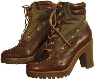 Sperry Top Sider Brown Leather Ankle boots