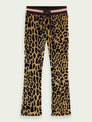 Scotch & Soda Leopard print flared pants | Girls