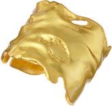 Kenneth Jay Lane Freeform Golden Cuff