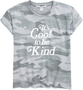 Sub Urban Riot Kids' Cool to Be Kind Graphic Tee