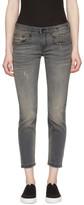 R 13 Grey Boy Skinny Jeans