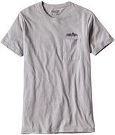 Patagonia Men's Nightfall Fitz Roy Cotton/Poly Pocket T-Shirt