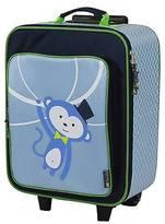 Itzy Ritzy Adventure Happens Kids Rolling Luggage Monkey - Blue