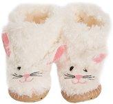 Hatley Slouch - Bunny, Girls' Hi-Top Slippers,XL Child UK (34/35 EU)