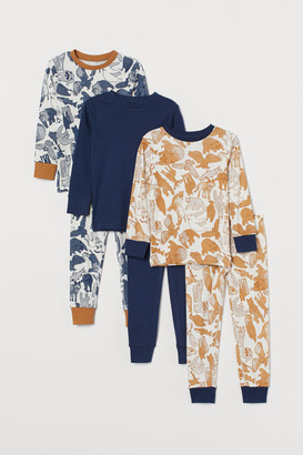 H&M 3-Pack Pyjamas