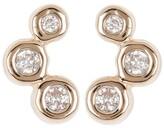 Thumbnail for your product : Adina Reyter Diamond Barnacles Stud Earrings
