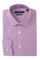 Tommy Hilfiger Slim Fit Tiny Check Non Iron Dress Shirt