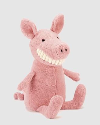 Jellycat Pink Animals Toothy Pig - Size One Size at The Iconic