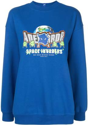 Ader Error Rangers oversized sweatshirt