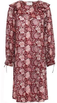 Antik Batik Jody Ruffle-trimmed Cotton-voile Dress