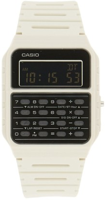 Casio Unisex Digital Calculator Watch in White - CA53WF-8BOS
