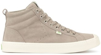 Cariuma OCA High Cloud Grey Suede Sneaker