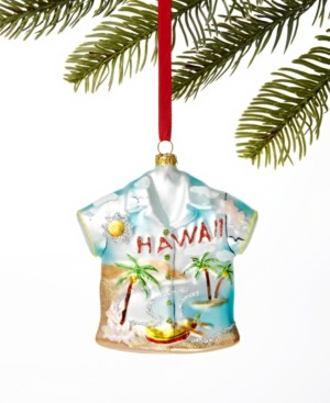 Holiday Lane Hawaii Hawaiian Shirt Ornament, Created for Macy's