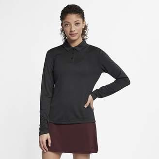 Nike Women's Long-Sleeve Golf Polo Dri-FIT