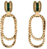 Mawi Crystal & Chain Clip-On Earrings