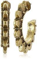 Lucky Brand Gold Spike Earrings