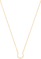 Gorjana Silas Necklace in Metallic Gold.