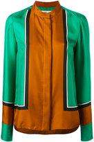 Diane von Furstenberg colour-block blouse - women - Silk - 4