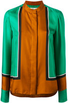 Diane von Furstenberg colour-block blouse