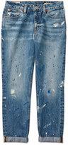 Ralph Lauren Paint-Splatter Jeans, Big Girls (7-16)