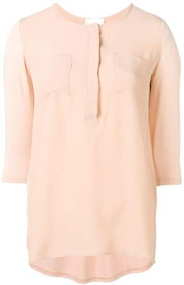 Semi-Couture Semicouture chest pocket blouse