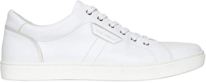 Dolce & Gabbana London Nappa Leather Sneakers
