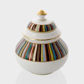 Paul Smith for Thomas Goode - Signature Stripe Bone-China Sugar Pot